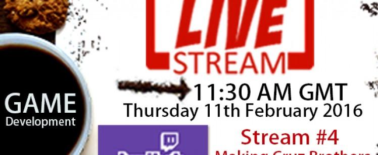 Game Development Live Stream